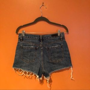 Blank NYC Shorts - Blank NYC the barrow high rise button front shorts